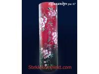 Ваза напольная Цилиндр краш.матовый (Сакура,Орхидея)