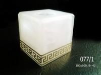 Куб 077 алебастр. декор (1-2)