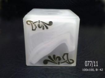 Куб 077 алебастр. декор. (11)