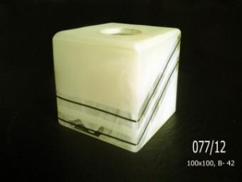 Куб 077 алебастр. декор. (3-6,9,12)