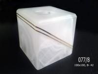 Куб 077 алебастр. декор. (7-8,10)